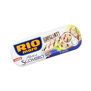 BUY RIO MARE GRILLED MACKEREL NATURAL BRINE