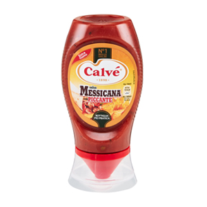BUY CALVE' MEXICAN SAUCE TOP DOWN 250ml