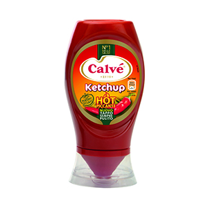 BUY CALVE' KETCHUP HOT TOP DOWN 250ml