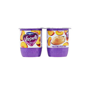 BUY DANONE VITASNELLA 0% FAT PEACH YOGURT
