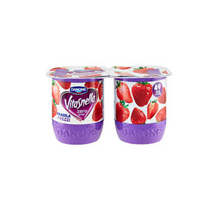 BUY DANONE VITASNELLA 0% FAT STRAWBERRY YOGURT