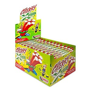 BUY PERFETTI GELCO XPLOSION CHERRY CANDIES 150 PIECES