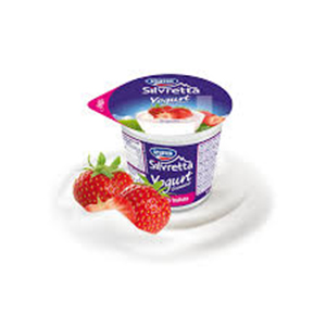 BUY STUFFER YOGURT SILVRETTA STRAWBERRY 125g