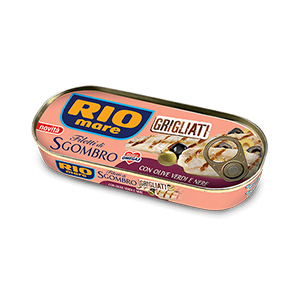 BUY GRILLED MACKEREL BLACK&GREEN OLIVES RIO MARE
