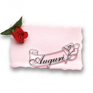 BUY SIGN-PLATE AUGURI FOR DESSERTS ONLINE UK