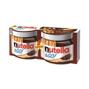 BUY FERRERO NUTELLA & GO 2x52g