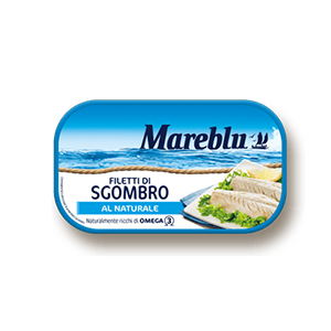 BUY MAREBLU' MACKEREL FILLETS IN NATURAL BRINE 90g