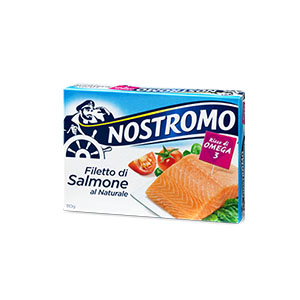 BUY NOSTROMO SALMON IN NATURAL BRINE 110g