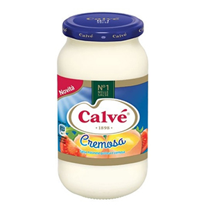 BUY CALVE' CREAMY MAYONNAISE GLASS 450ml
