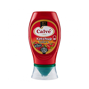 BUY CALVE' KETCHUP LIGHT TOP DOWN 250ml