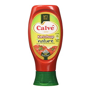 BUY CALVE' KETCHUP NATURE TOP DOWN 430ml