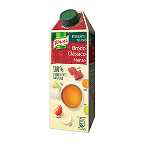 BUY KNORR CLASSIC BEEF TASTE LIQUID BROTH 750ml ONLINE UK