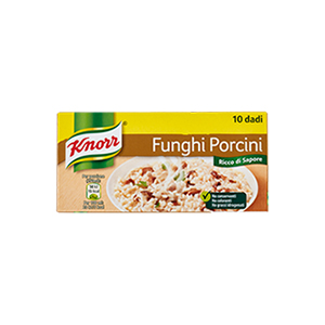 BUY KNORR MUSHROOMS STOCK CUBES X10 ONLINE UK