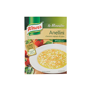 BUY KNORR SOUP MINESTRA ANELLINI 82g ONLINE UK