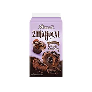 BUY BUALI 2 MUFFINS TRIPLE COCOA CHOCOLATE